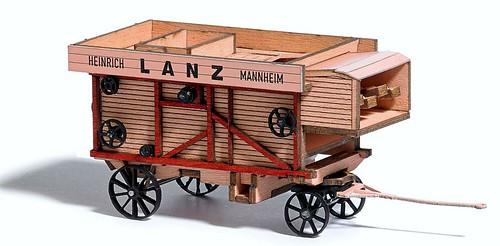 Busch trebbiatrice Lanz