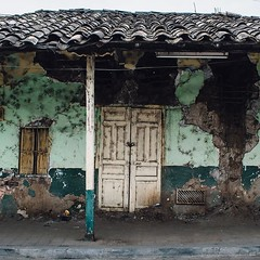 I've walked by this house every morning since getting into Macará. I can't help but sit at a bench across the street and stare. #theworldwalk #travel #ecuador