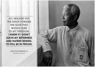 "Nelson Mandela, ""As I walked out the door..."