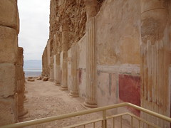 Masada - remnants of Herod's Northern Palace