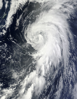 Tropical Storm Yagi in the North Pacific Ocean
