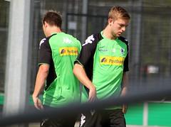 Christoph Kramer beim Yoyo-Test von Borussia Mönchengladbach