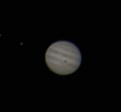 Jupiter w/ shadow over GRS