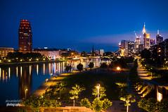Frankfurt Skyline: Mainhatten
