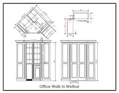 Walk-in Office Wet Bar