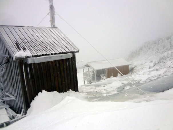 Saddleback Mountain Warming Hut