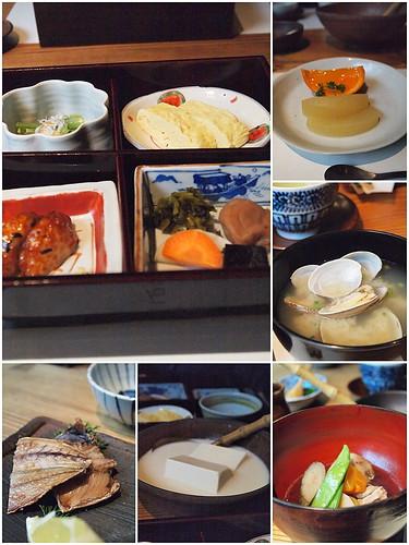 石原荘朝食