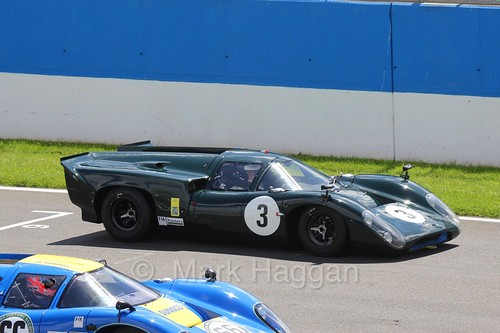 Masters Historic Series at Donington Park, July 2016