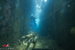 Diving with Submarine Periscopes in the Heian Maru