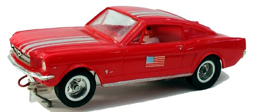 Aurora Ford Mustang fastback slot-car