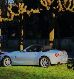 bmw z4 3 0i benduj78 tags france silver convertible bmw z4 roadster silber [ 1024 x 768 Pixel ]