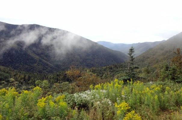 Pemi View from the Galehead Hut