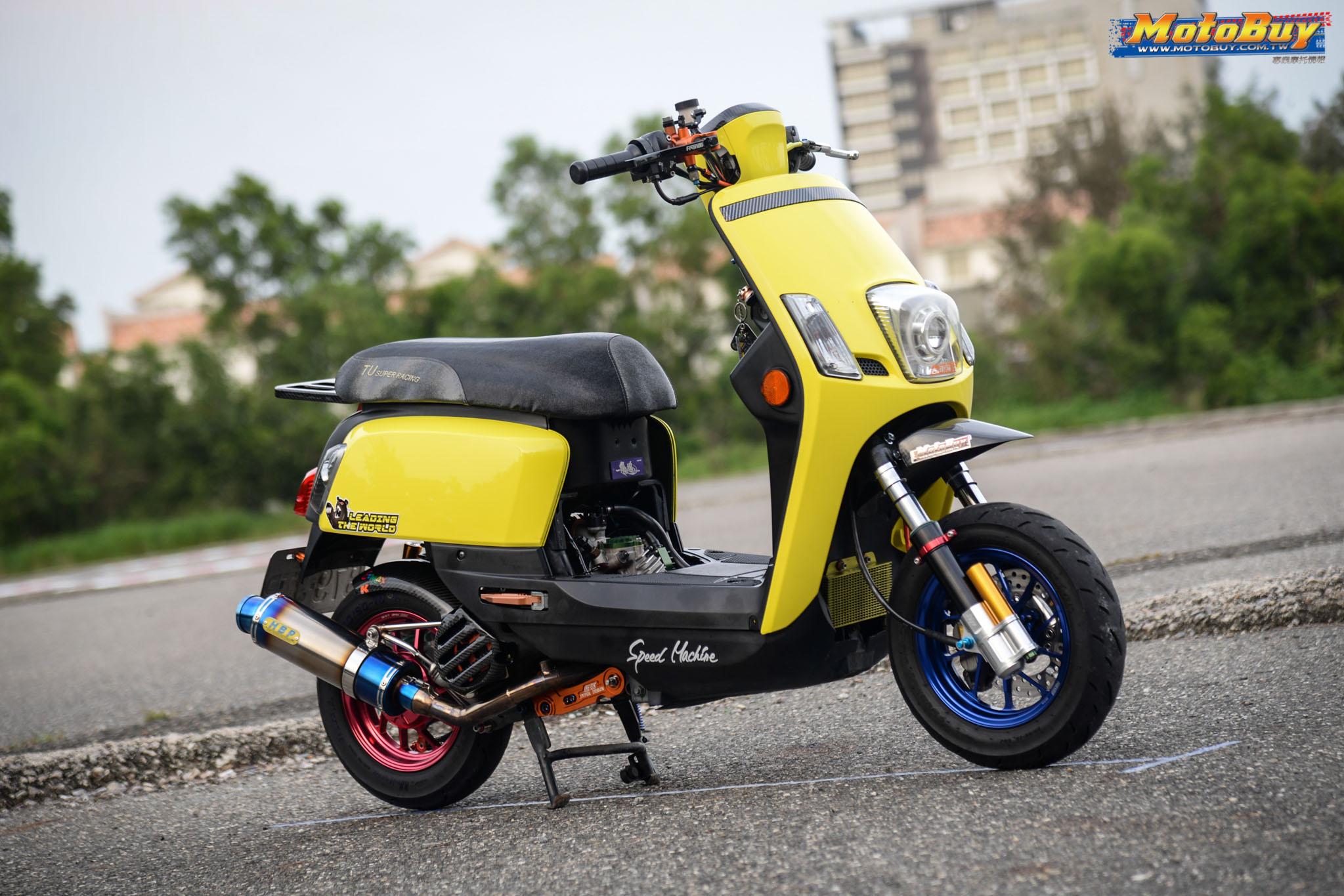 [夯車分享] 黃色玉玲瓏 - YAMAHA CUXI 100   MotoBuy