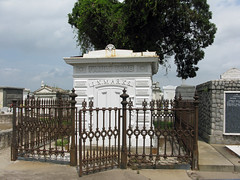 Marks iron tomb