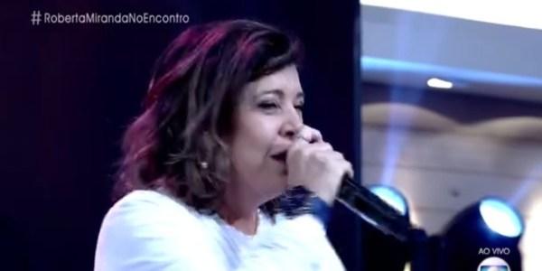 Roberta Miranda interrompe Fátima e divulga entrevista para Galisteu