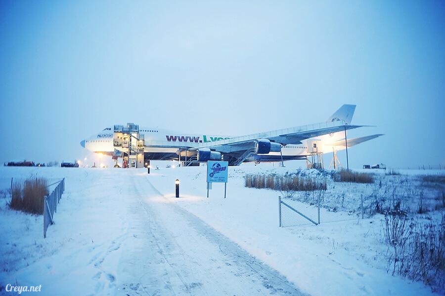 2016.07.08 | 看我歐行腿 | 只載去見周公的飛機,瑞典斯德哥爾摩機場旁的 Jumbo Stay 特色青年旅館 25