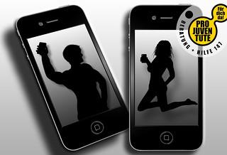 ClipArtPro Juventute Aufklärungskampagne 'Sexting'
