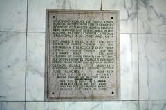 Hope Mausoleum Girod plaque
