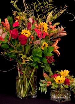Sunset Sky — Leanne and David Kesler, Floral Design Institute, Inc., in Portland, Ore.