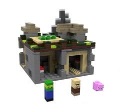 LEGO Minecraft 21106 The Village