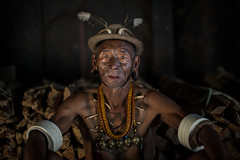 the last head hunters, konyak tribe warrior,nagaland