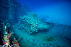 Light Tank on the S.S. Nippo Maru