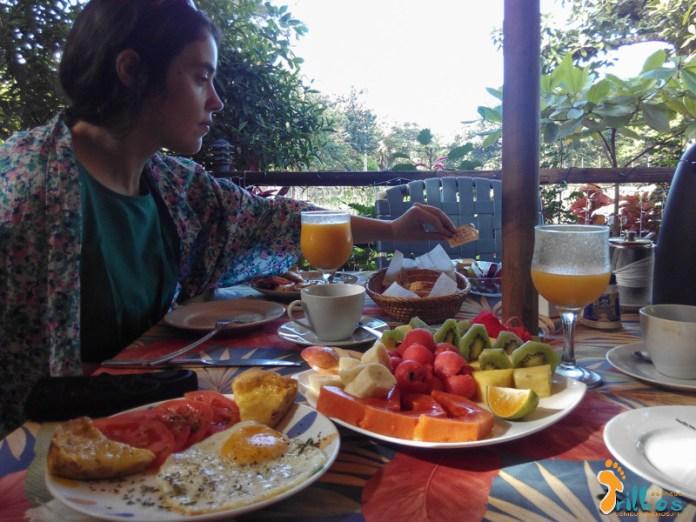 Pequeno Almoço em San Juanillo