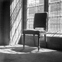 Empty Chair, Scottish National Portrait Gallery