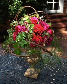 Fall Floral Designs — Photo by Sharon McGukin AAF, AIFD, PFCI