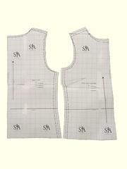 Camellia Sewing Pattern - Pattern Cutout
