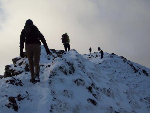Hiking The Arete