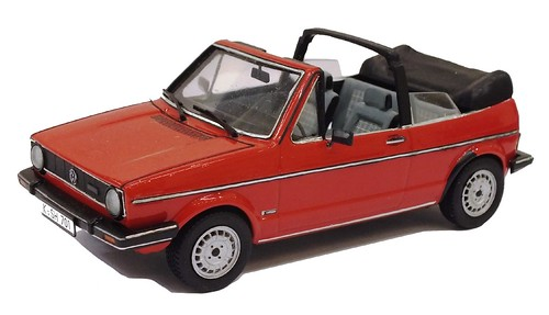 Revell VW Golf cabrio