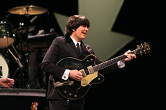 """Joe Bithorn in the Broadway Sacramento presentation of """"Rain: A Tribute to the Beatles"""" at the Sacramento Community Center Theater March 17 – 22, 2015. Photo by Cyllavon Tiedemann."""