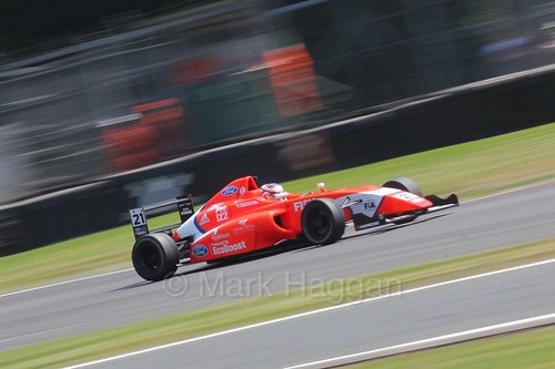 Rafael Martins in British Formula Four during the BTCC weekend at Oulton Park, June 2016