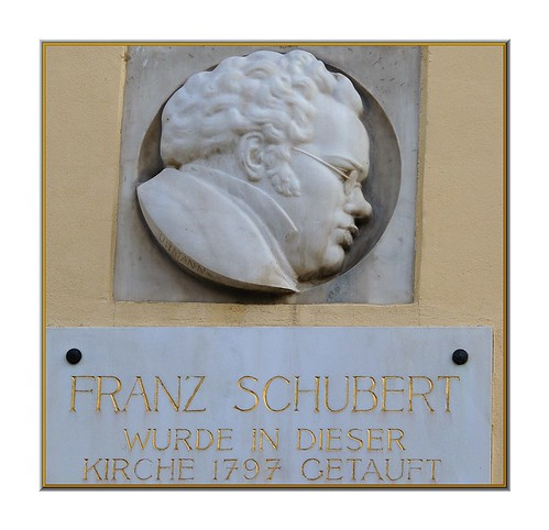 Franz Schubert was baptized in this church in ...
