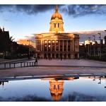 Gorgeous Light in Nottingham Square