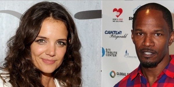 Amiga confirma romance entre Katie Holmes e Jamie Foxx
