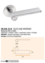 IN.00.312 OUTLINE MIRROR
