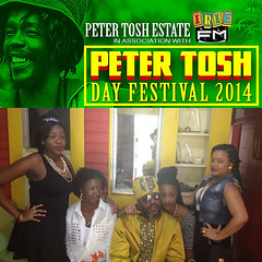 "Peter Tosh Day 2014 • <a style=""font-size:0.8em;"" href=""http://www.flickr.com/photos/92212223@N07/12815945785/"" target=""_blank"">View on Flickr</a>"