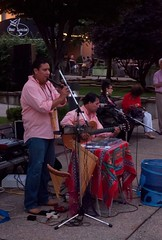 Inca Son performs in Union Plaze