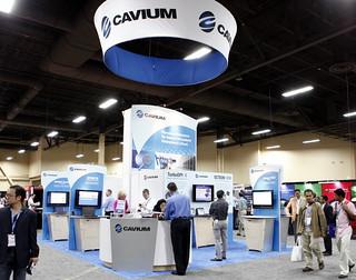 Cavium Booth
