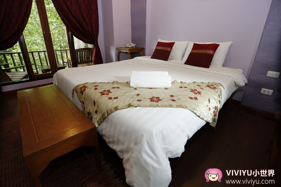 [泰國.大城]Baan Thai House Ayutthaya.班泰屋渡假村~離大城市中心2公里.房間坪數大花園別墅.一晚千元初就能入住 @VIVIYU小世界