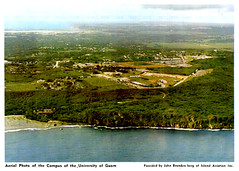 Aerial Photo of University of Guam, 1974