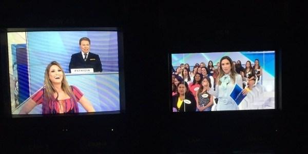 Filha de Silvio Santos assume o lugar do pai em gravação no SBT