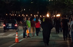 Just another typical evening in Downtown Providence.