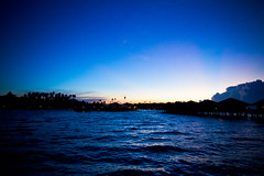 Sipadan Water Village at Sunset