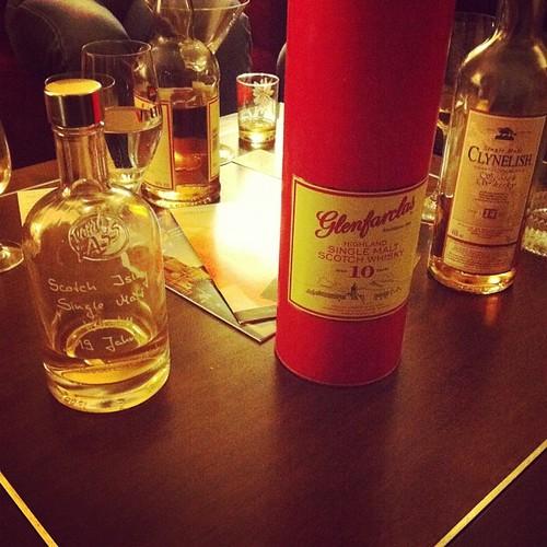 Die AG Single Malt hat ganz besonders feine Whiskys auf Lager.