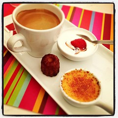 Café gourmand (allongé, entamé)