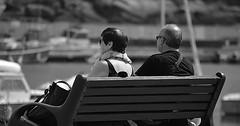 """Das Sitzen. Auf einer Bank sitzen. Das Paar sitzt auf einer Bank. Die Paare sitzen auf Bänken. • <a style=""""font-size:0.8em;"""" href=""""http://www.flickr.com/photos/42554185@N00/27152778952/"""" target=""""_blank"""">View on Flickr</a>"""