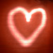 lightpainted heart
